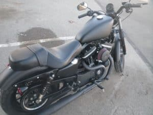 Harley Sportster purchased after first oath of enlistment
