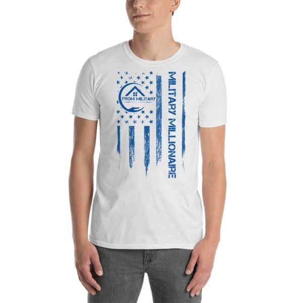 product mockup tshirt white male