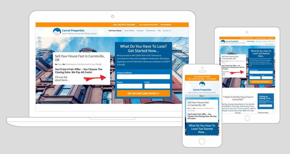 Investor Carrot Website