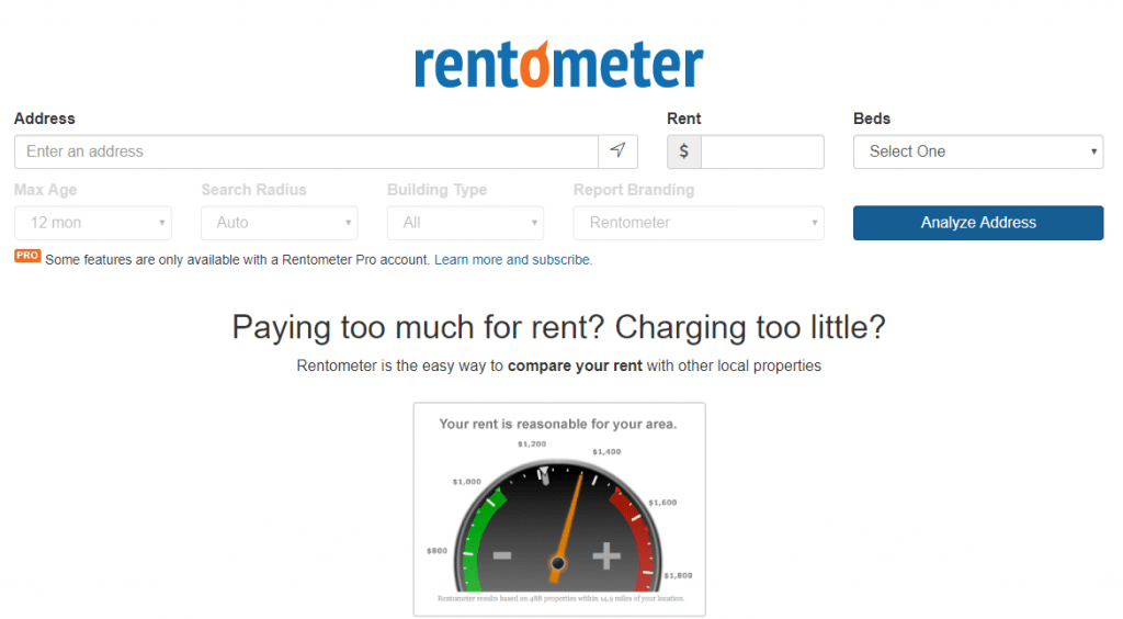 What is Rentometer