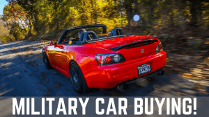 military car buying