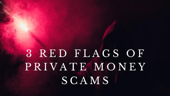 Private Money Scam