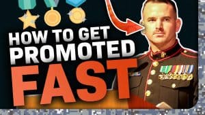 get promoted in the military
