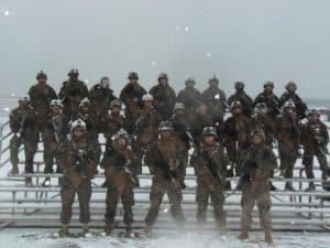 Sgt Buzek and Security platoon