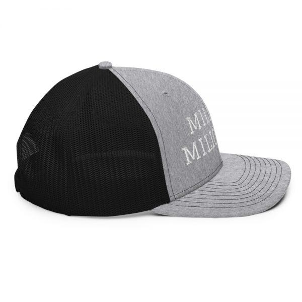 Military Millionaire hat mockup