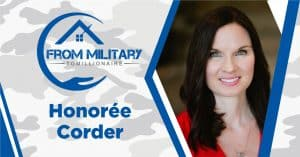 Honoree Corder on The Military Millionaire Podcast