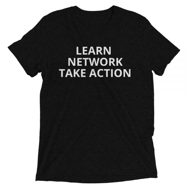 Learn Network Take Action (front)