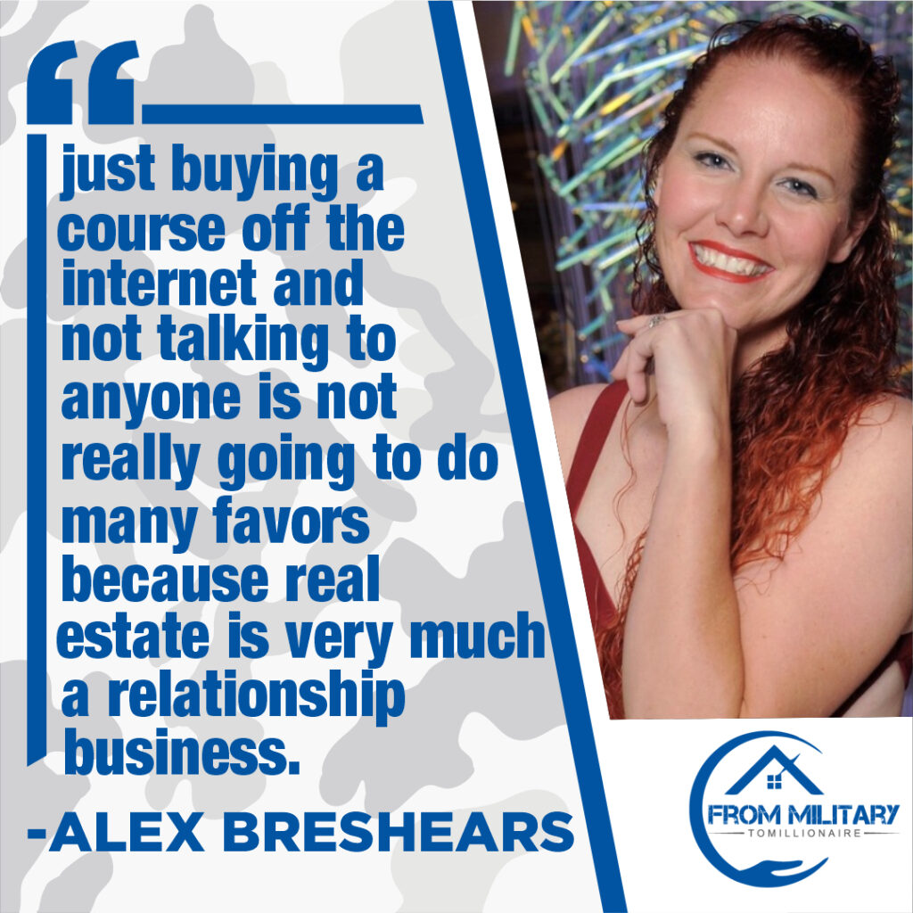 Alex Breshears quote about private lending