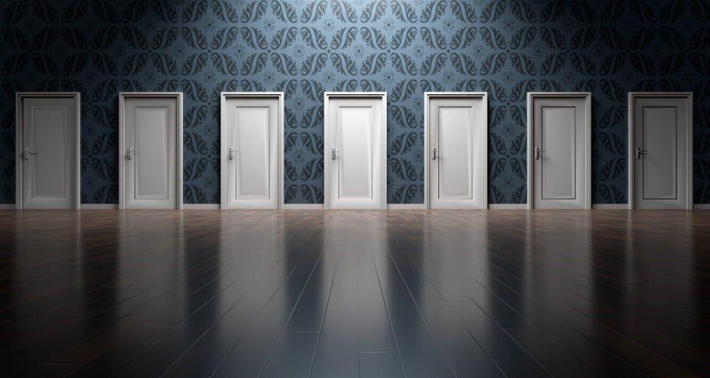 Choose your door!