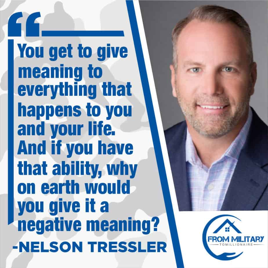 Nelson Tressler quote about meaning in life