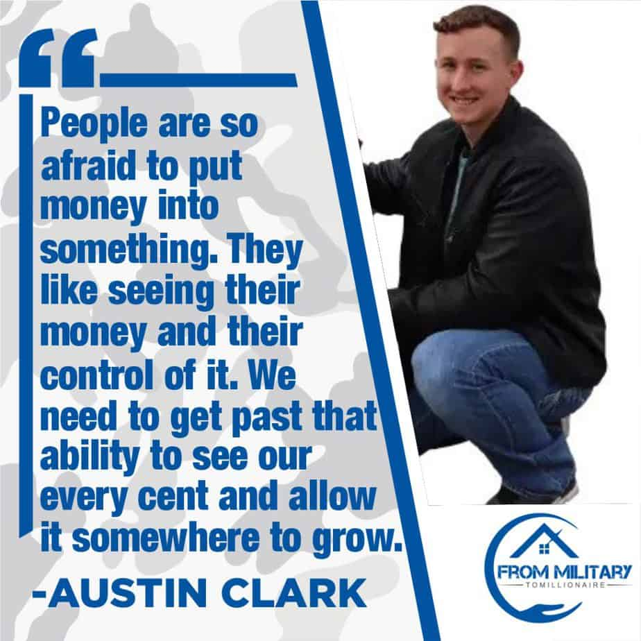 Austin Clark Quote about taking action!