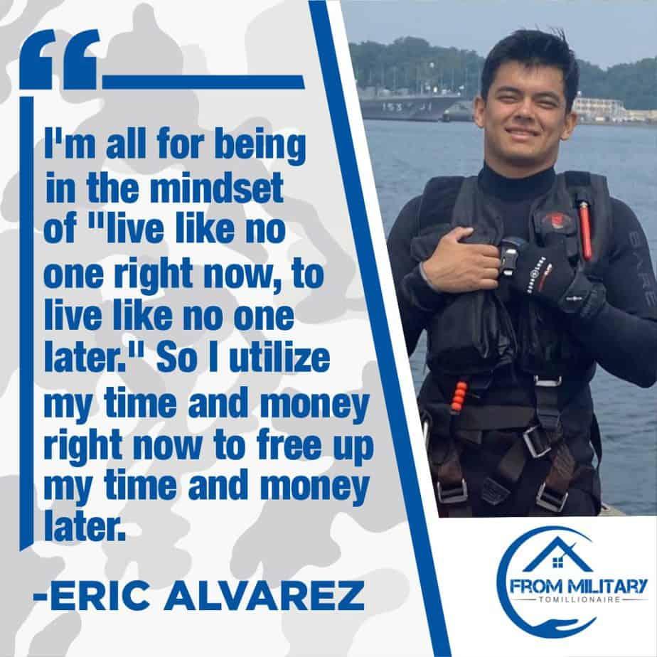 Eric Alvarez Quote about Hustling!