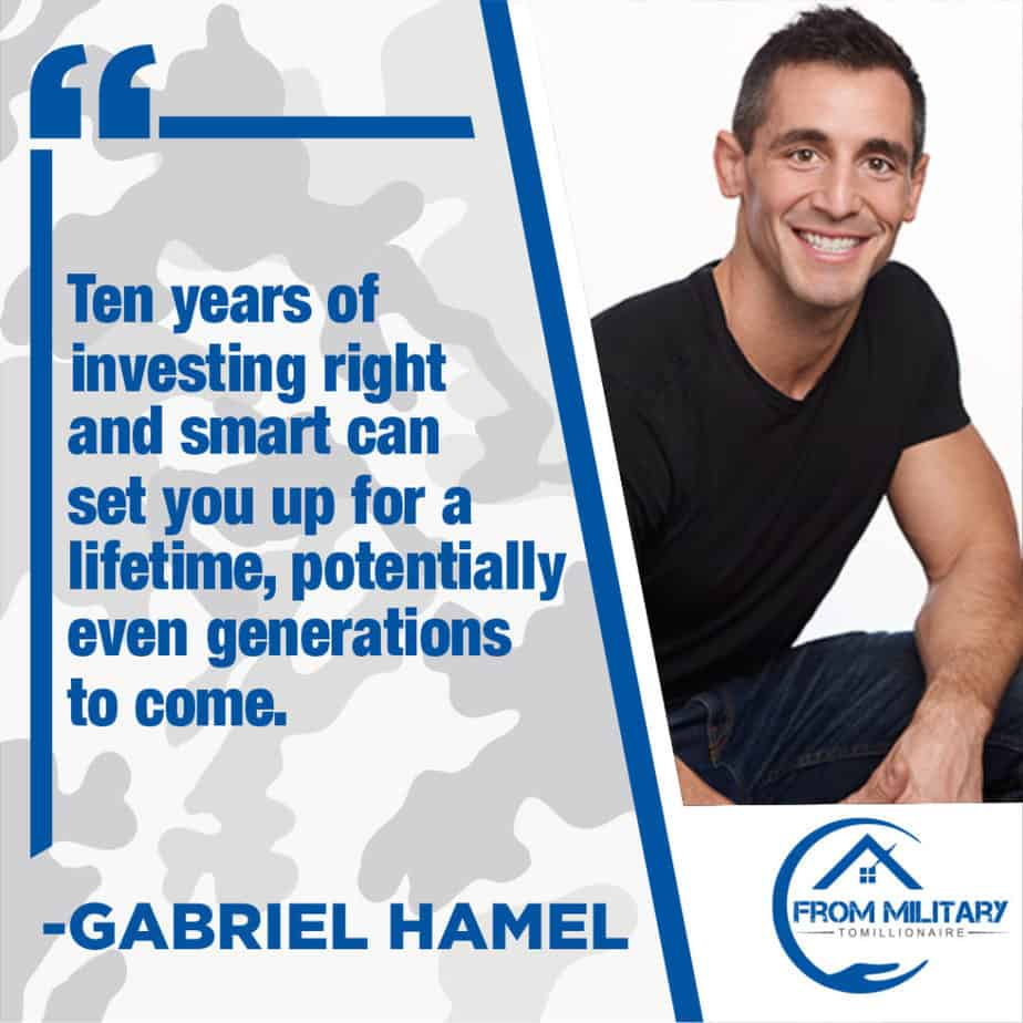 Gabriel Hamel Quote About Investing