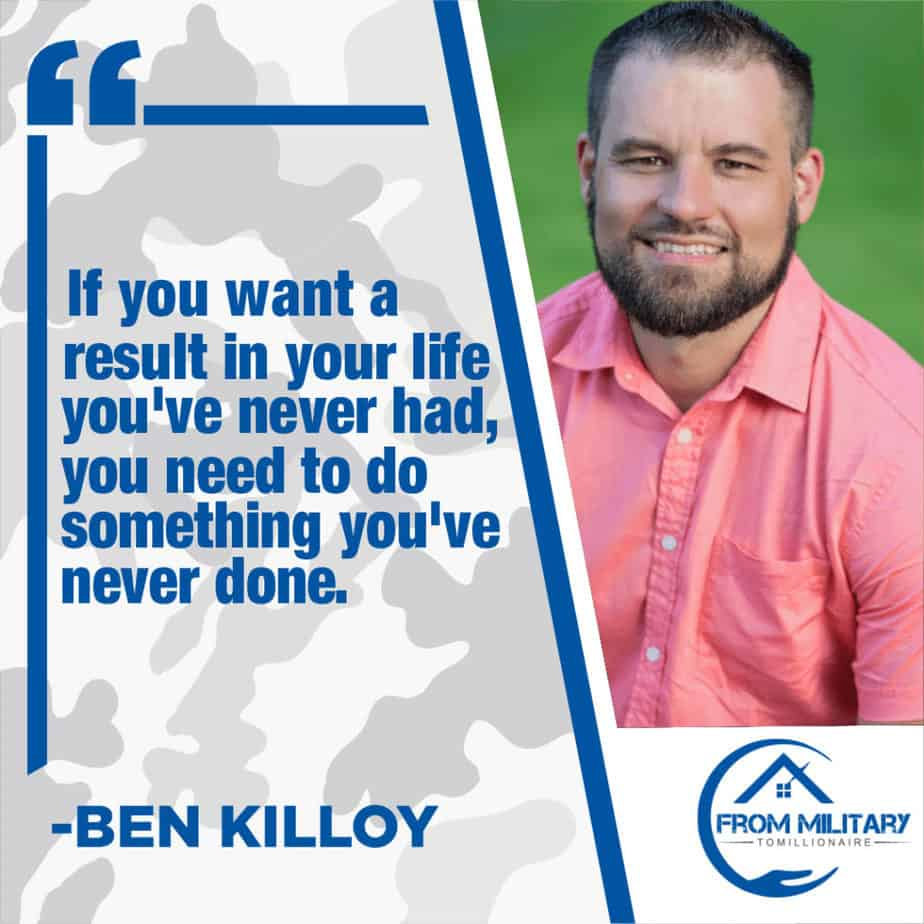 Ben Killoy Quote about change
