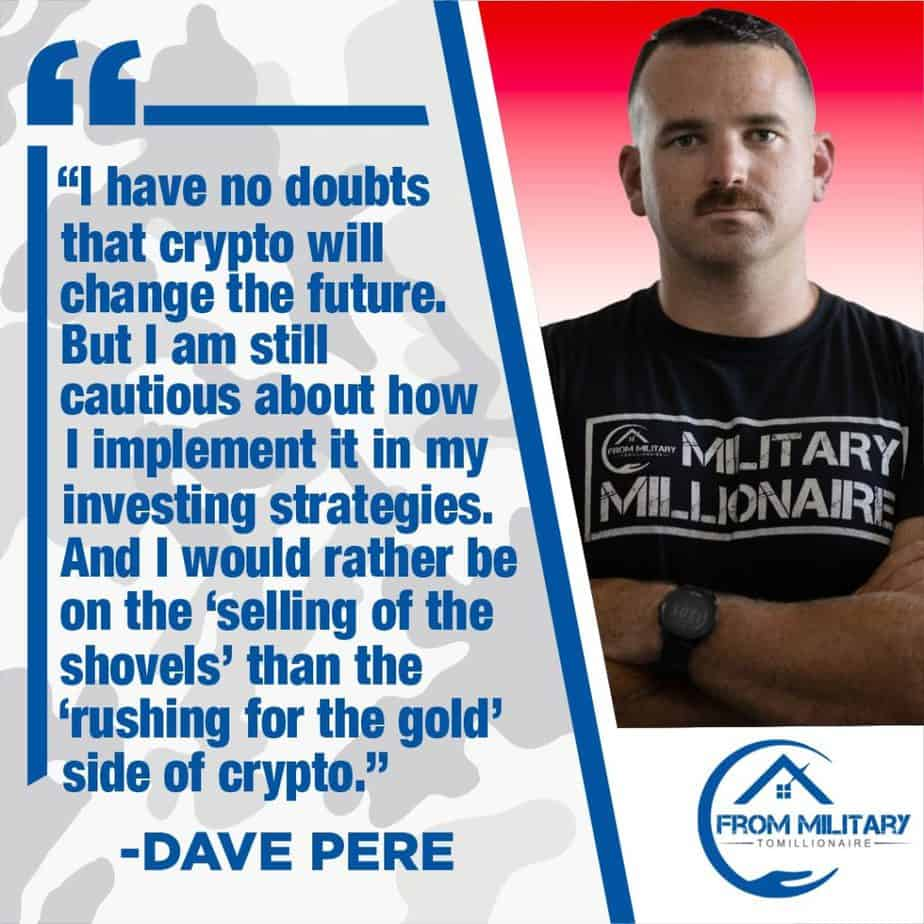 David Pere quote about cryptocurrency