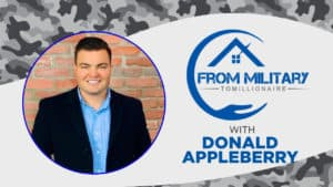 Donnie Appleberry on The Military Millionaire Podcast