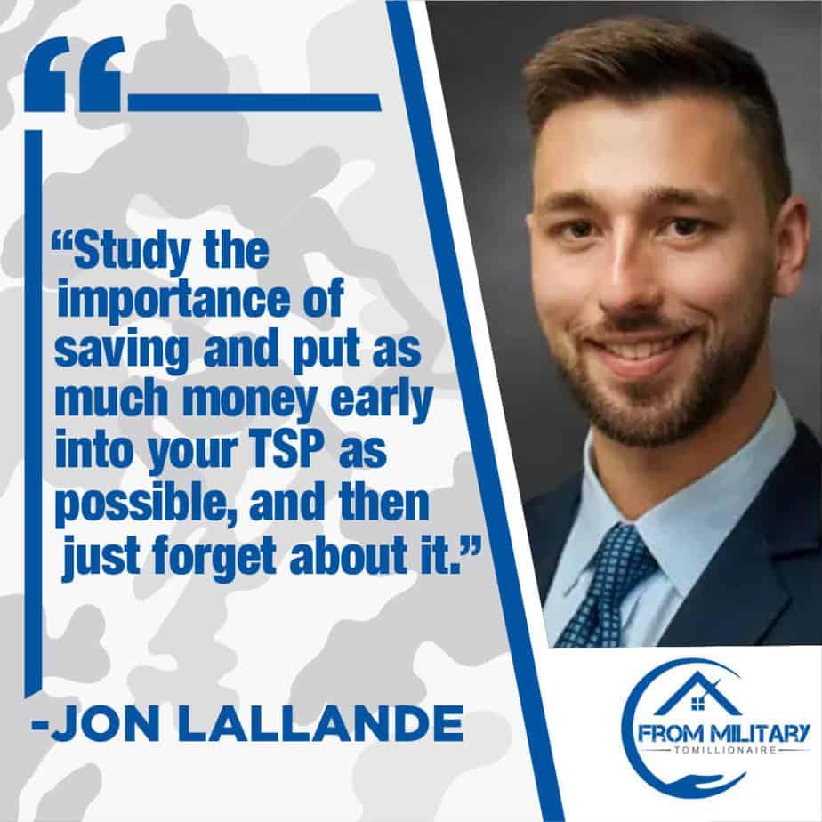 Jon Lallande quote card
